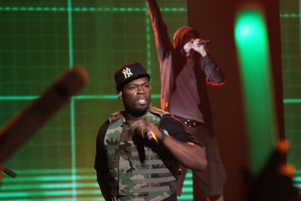 VIDEO: 50 Cent & Eminem Perform at SXSW