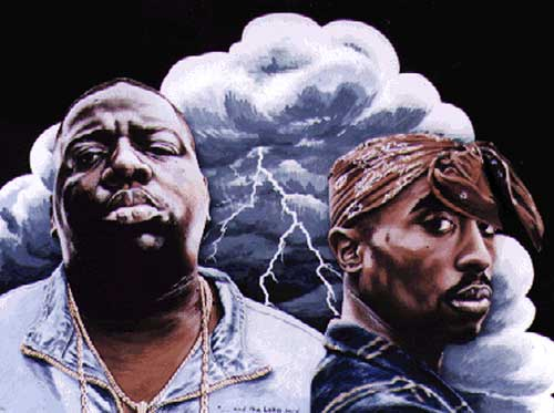 2Pac vs Biggie Freestyle battle