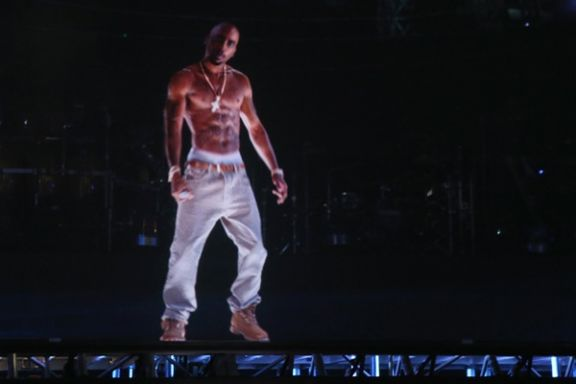 The music festival and speaks on taking 2pac s hologram on tour
