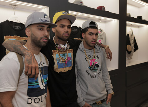 Chris brown clothing store